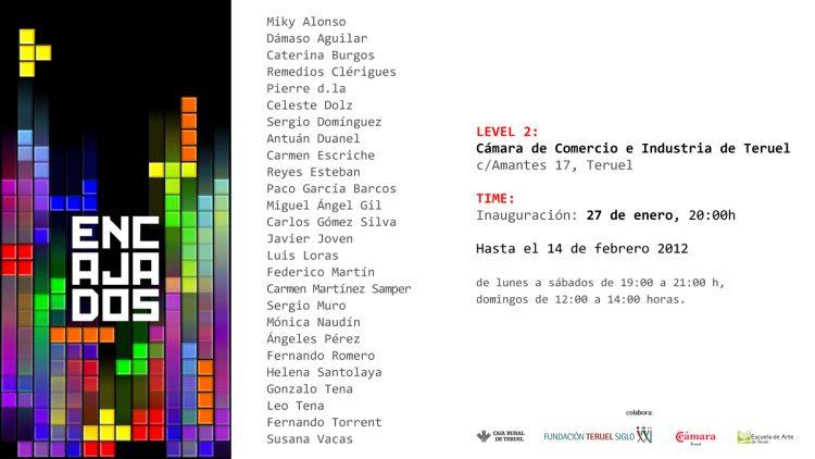 Exposición Colectiva «Encajados»